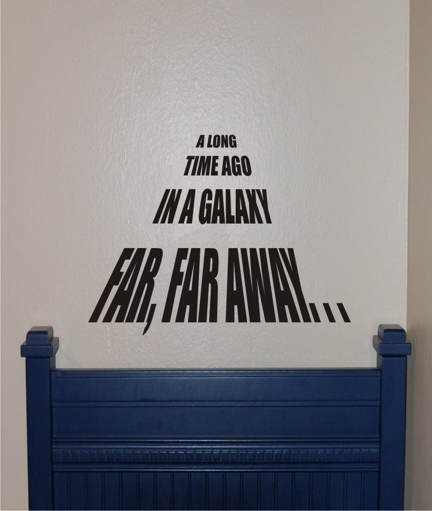 Star Wars Wall Stickers Ebay Iltribuno