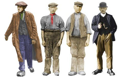 Victorian clothing for poor men dating