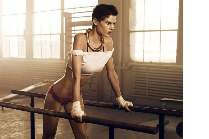Lingerie Workout Editorials | Tres Sportif | Editorial