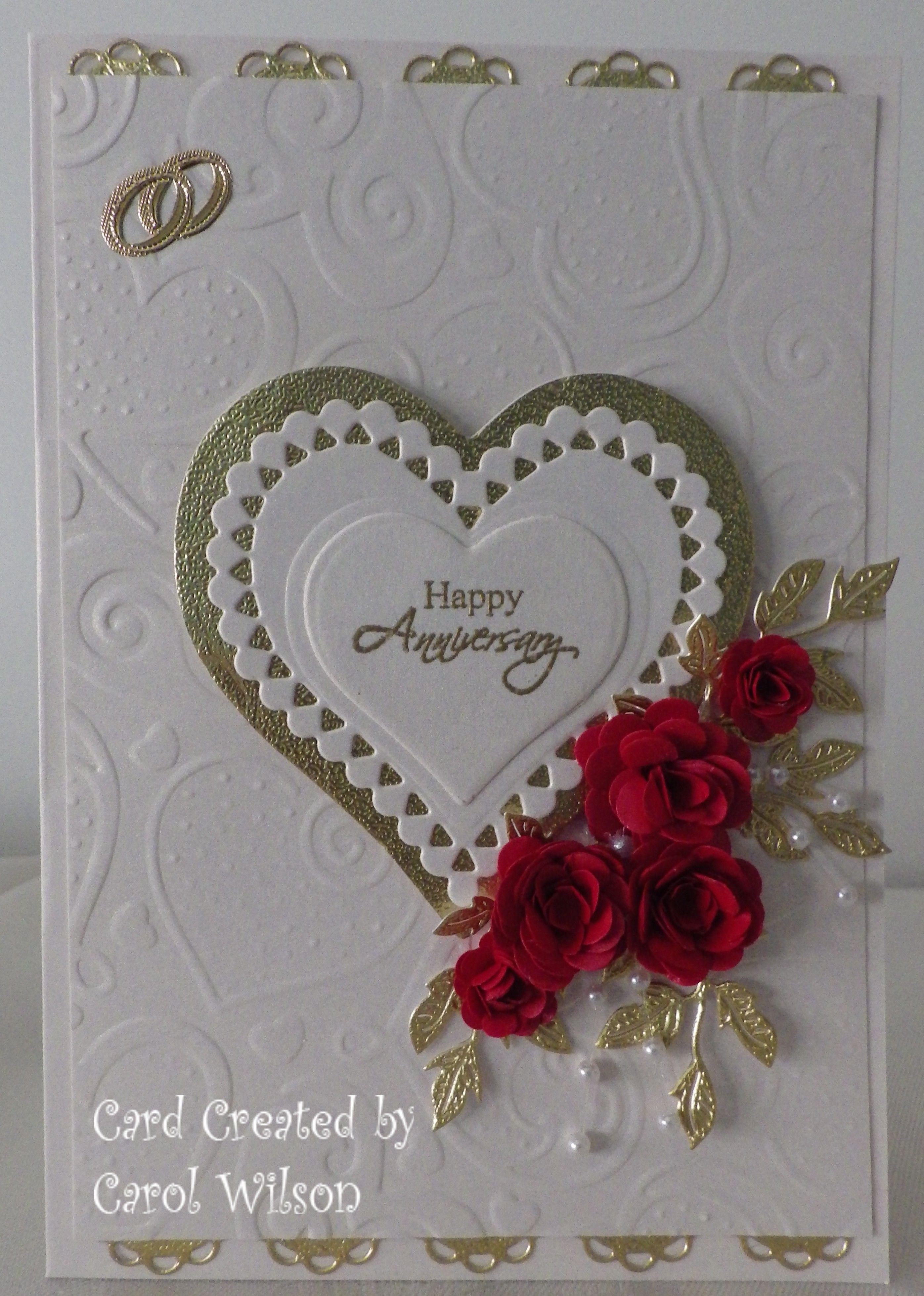 20th Wedding Anniversary Card Wedding Anniversary Cards Wedding Cards 20 Wedding Anniversary