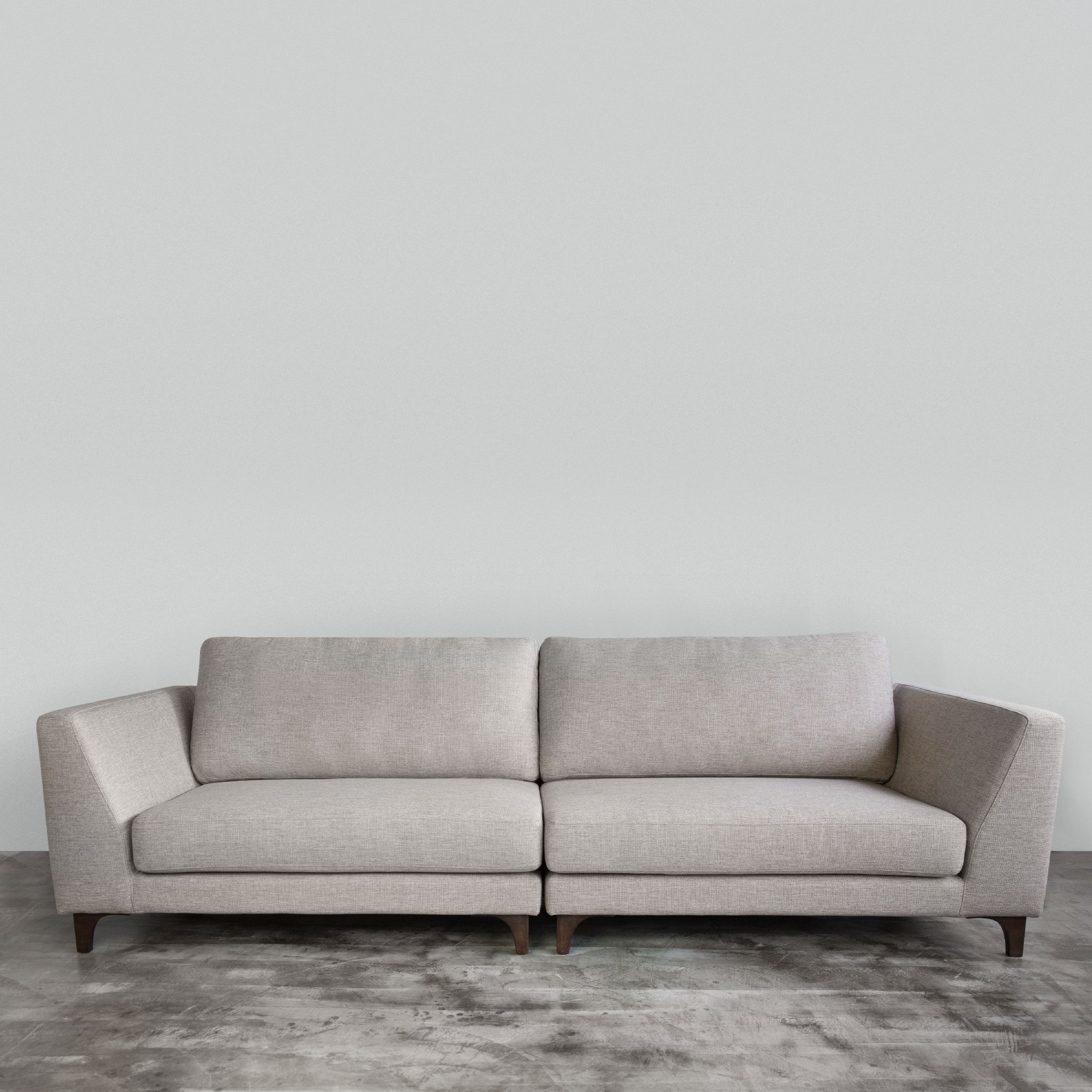 Prima fabric sofa all our sofas are built with a kiln dried hardwood frame for sturdiness and durability customizable in belgium acacia fabric with