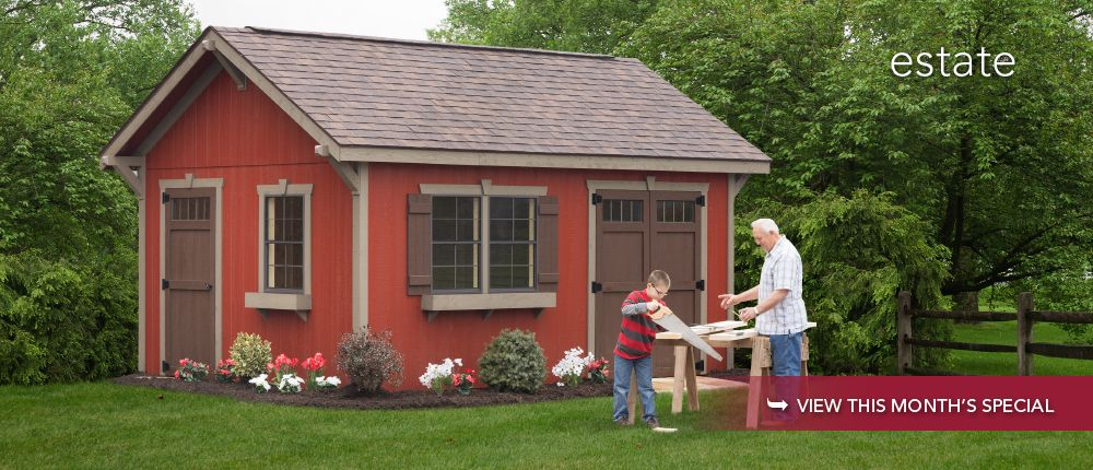 Amish Quality Shed Amish sheds, Shed, Shed homes