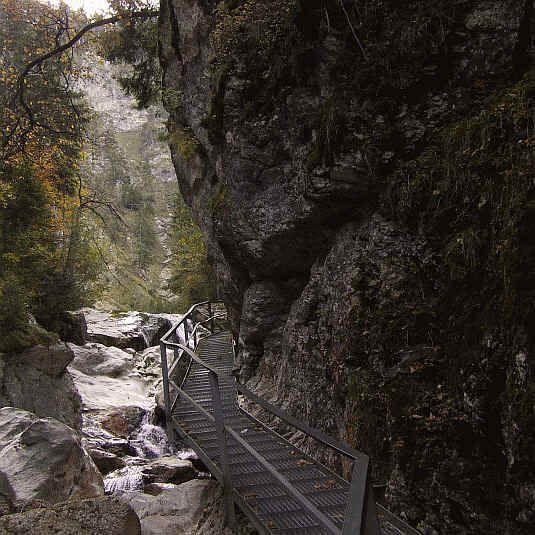 Die Pollatschlucht Mit Marienbrucke Und Schloss Neuschwanstein Im Oktober 2006 In Schwangau Ostallgau Allgau Urlaub Ausflug Ausflugsziele