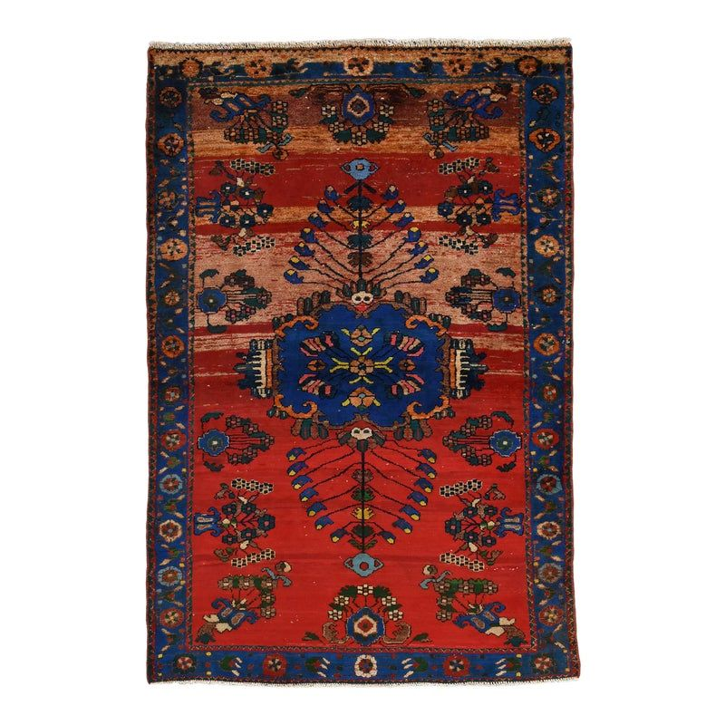 1980s Vintage Persian Malayer Rug 4 4 X 6 3 In 2020 Persian Malayer Rug Rugs Malayer