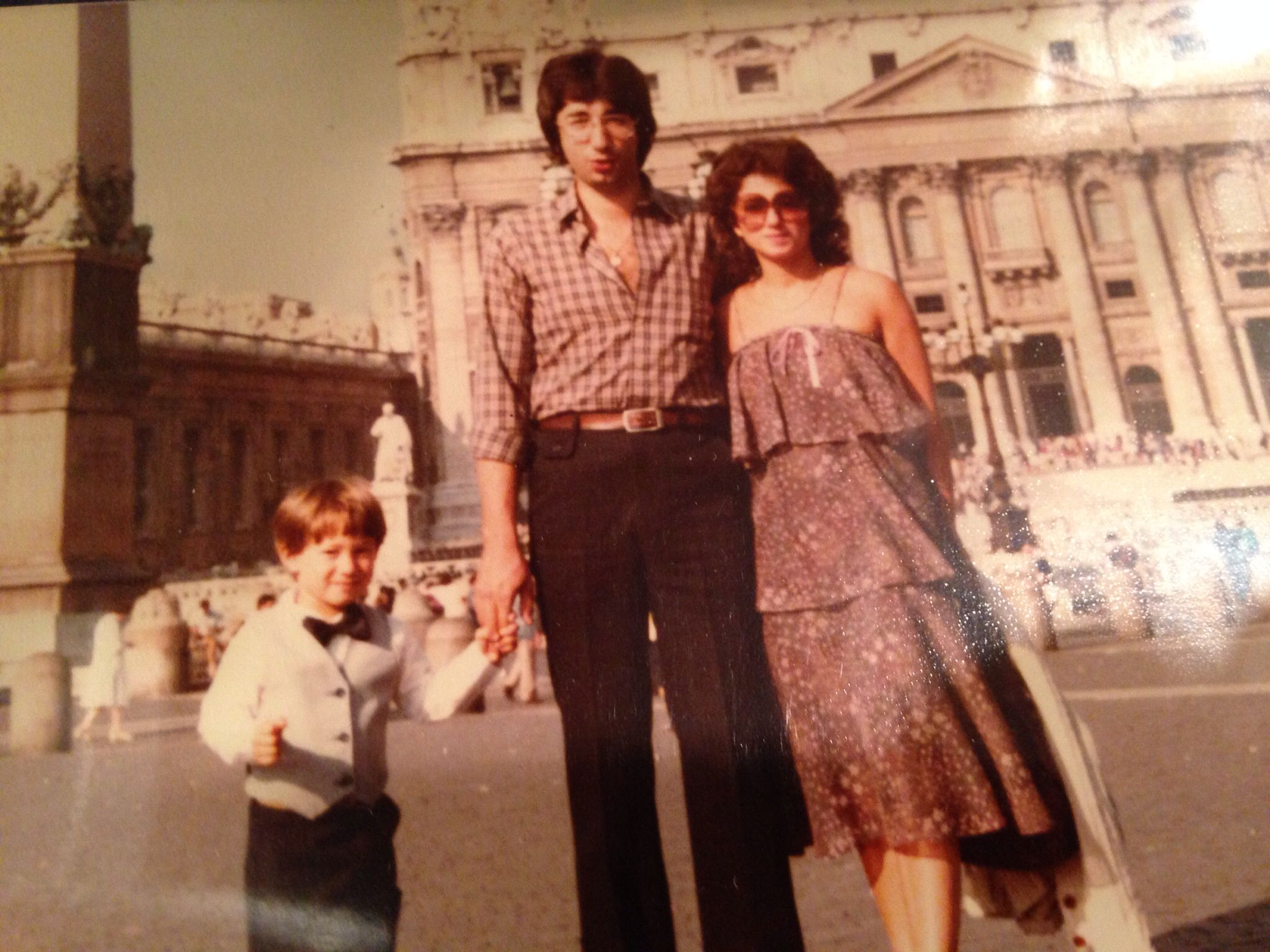 Rome, Italy...my first visit out if 3 at 4 years old