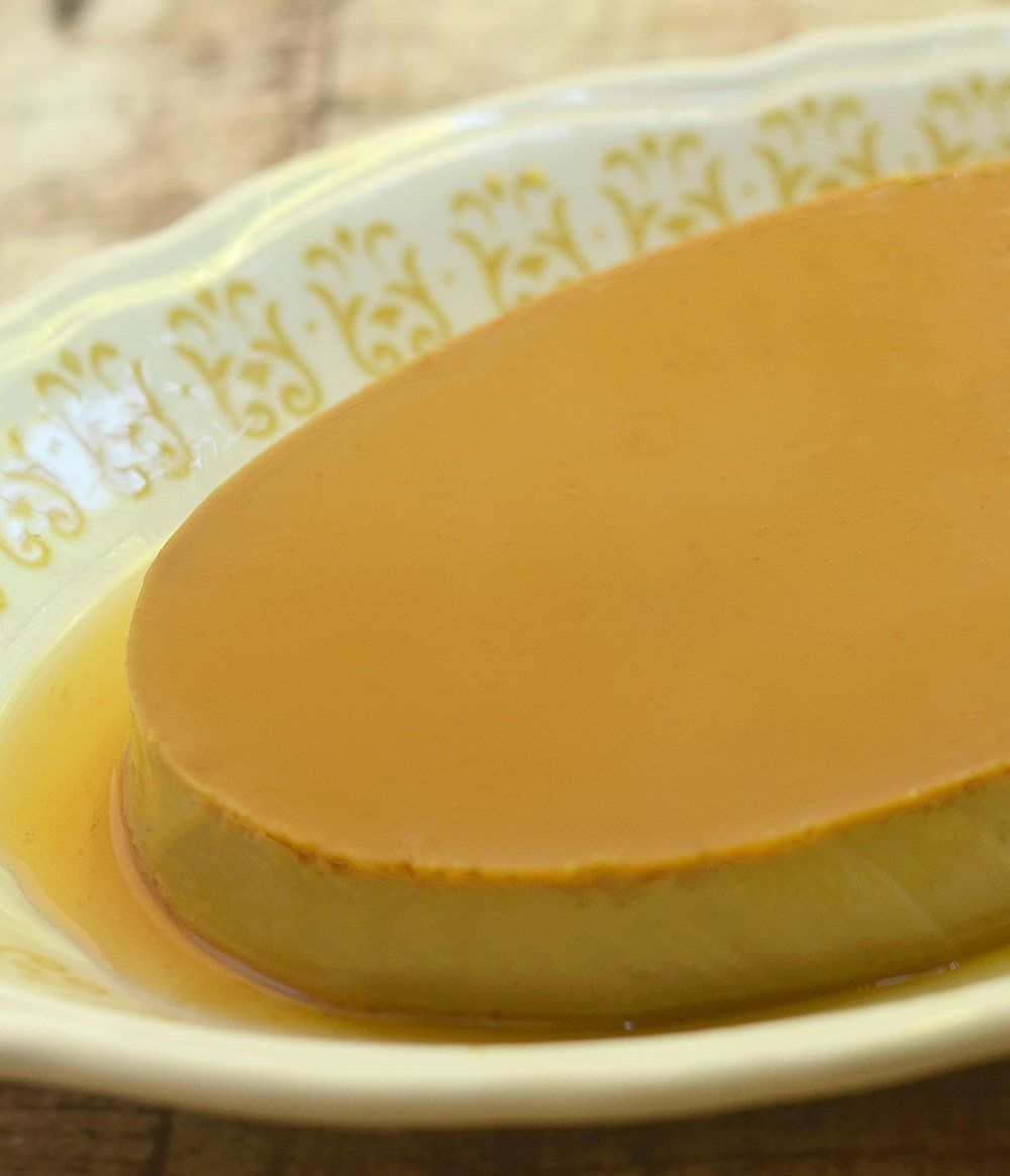 Quick And Velvety Cheese Flan