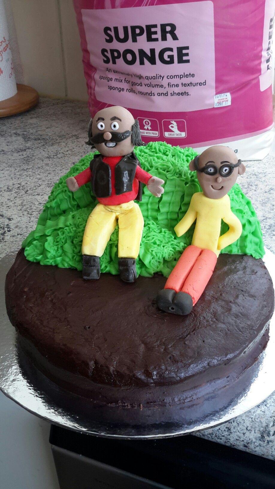 Motu Patlu Cake Cartoon Pinterest Cake Buttercream Frosting