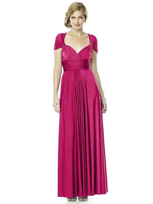 Twist Wrap Dress : Long   Destination weddings, Wedding and Weddings