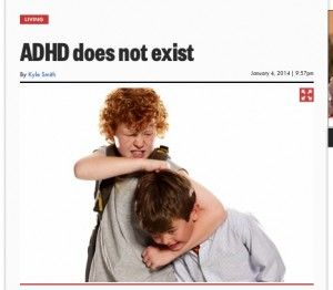 """""""WRONG! Dr. Saul"""" - Why NOT to trust reports about ADHD from the popular media. Gina Pera names the latest inductees to the ADHD Roller Coaster Hall of Shame: Self-proclaimed """"experts,"""" sensationalized book promotions and lazy journalism."""