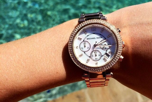 If this isn't the most gorgeous Michael Kors watch, I don't know what is