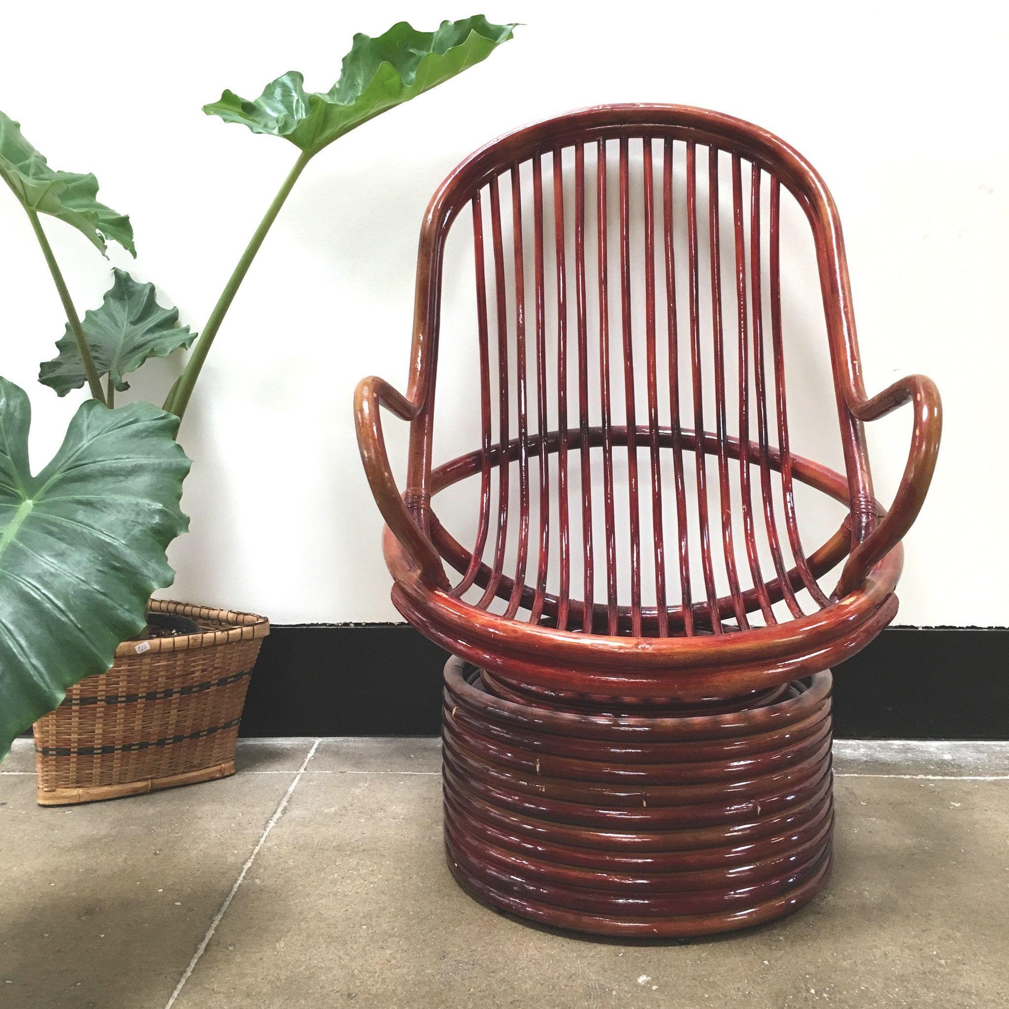 Marvelous Bamboo Swivel Egg Chair Furniture Egg Chair Chair Pabps2019 Chair Design Images Pabps2019Com