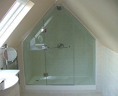 Shower Enclosures Sloping Ceilings
