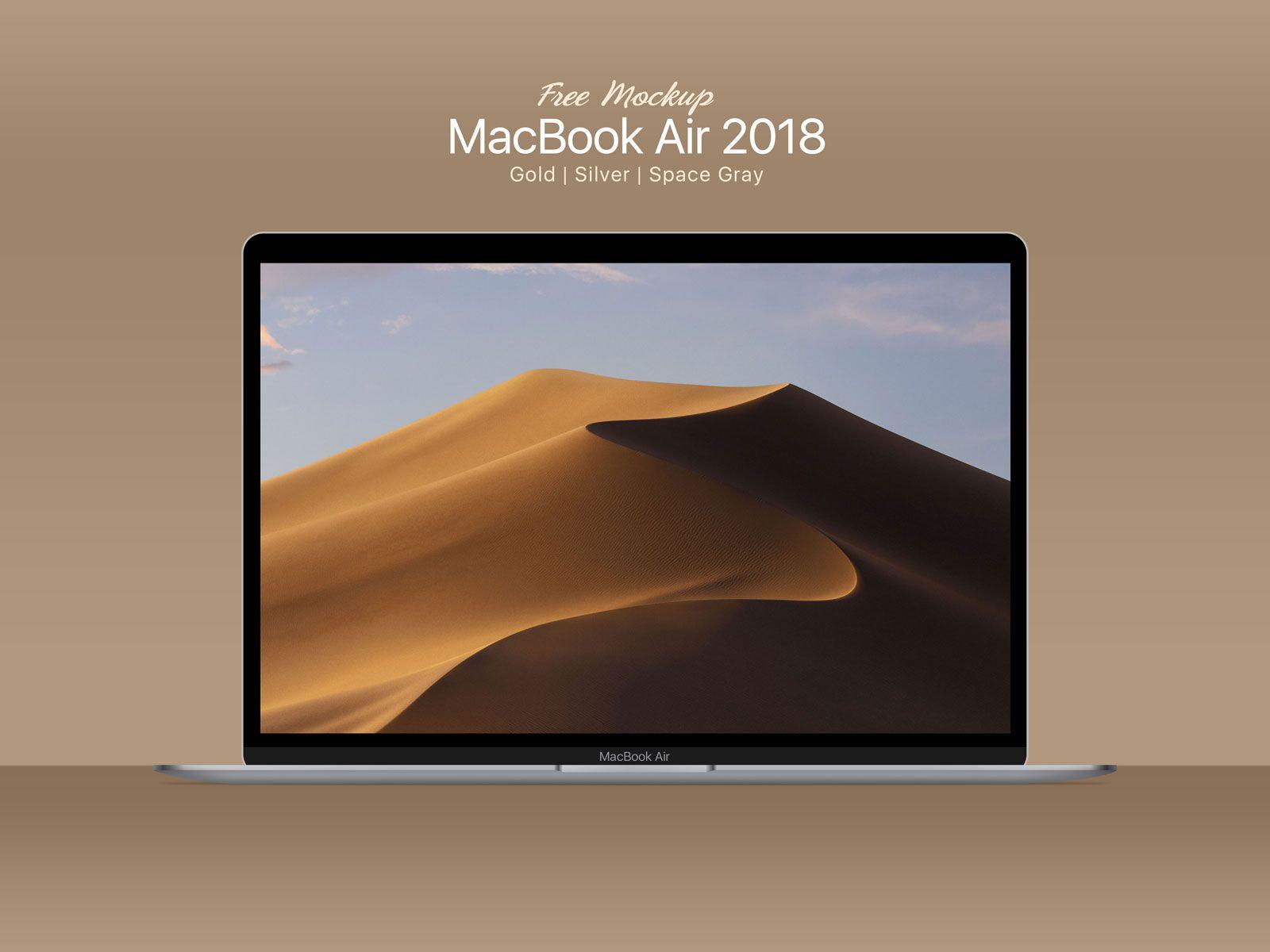 Free Macbook Air Psd Mockup 2 Macbook Air Macbook Mockup