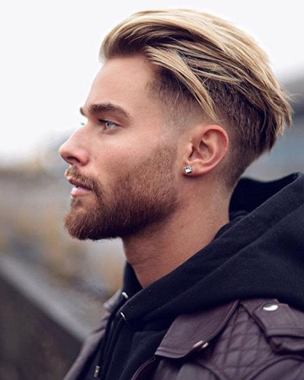 40 Fascinating Mens Bleached Haircuts Frisuren Männliche