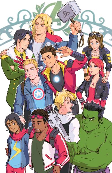 Avengers Academy Tumblr Vingadores Marvel Desenhos De Super