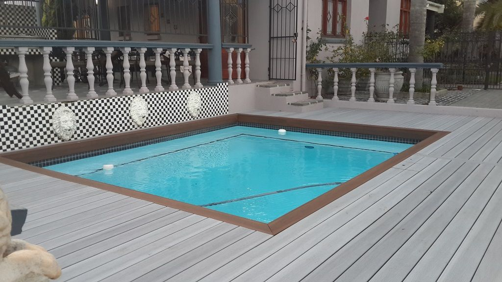 wood plastic composite deck project in UK How to
