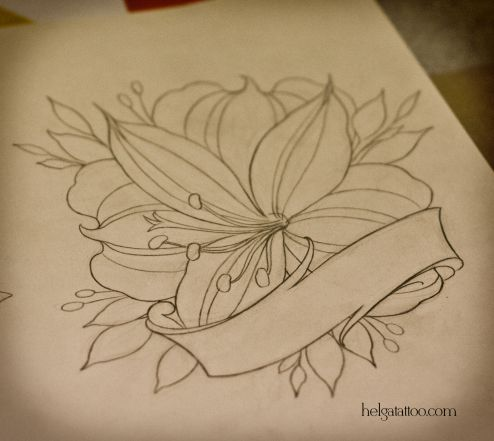 Alstroemeria Design Tattoo Pictures To Pin On Pinterest Picture Tattoos Tattoos Tattoo Designs