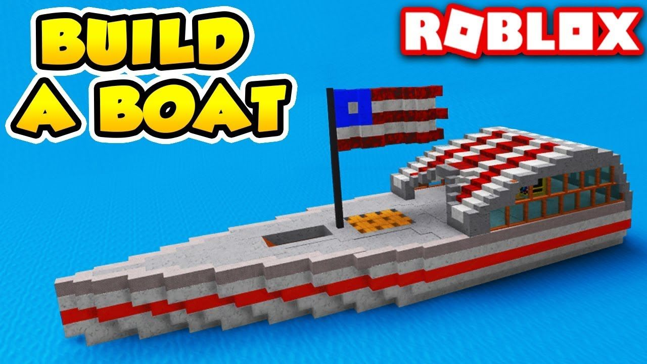 how to build a boat in build a boat for treasure