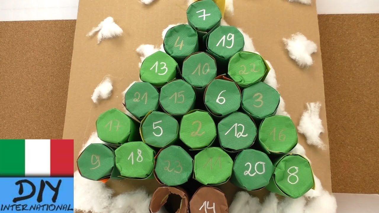 Calendario bambini ~ Calendario dell avvento albero di natale calendario avvento fai