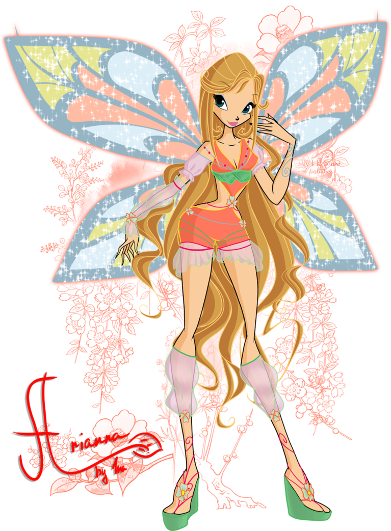 While Abbie S Special Lovix Spell Is Called Winter Dessert Her Sophix Spell Is Fruit Essences I M Becoming Really Slow Character Sketch Winx Club Cartoon