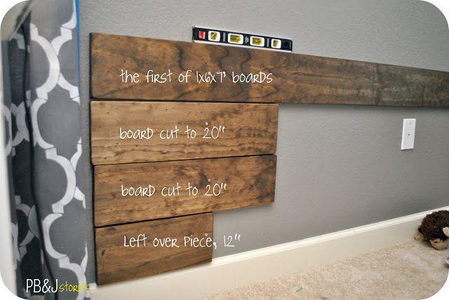 Pbjstories Diy Wood Headboard Tutorial Home Sweet Home