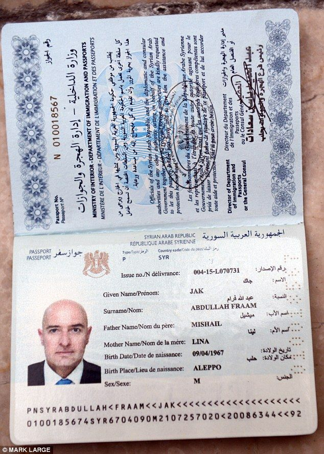 mailonline buys bogus syrian passport isis fighters use to