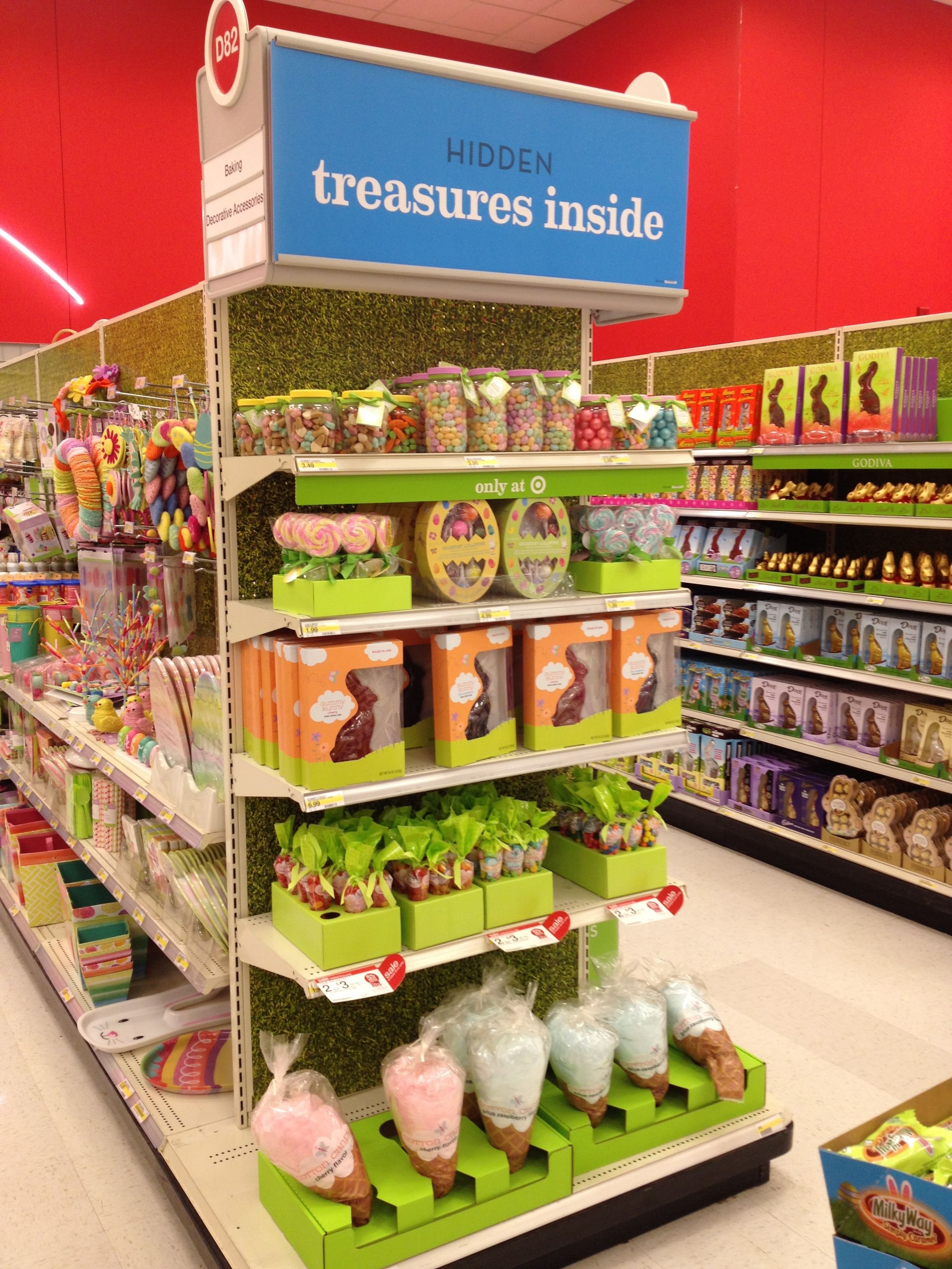Target Easter Candy End Cap