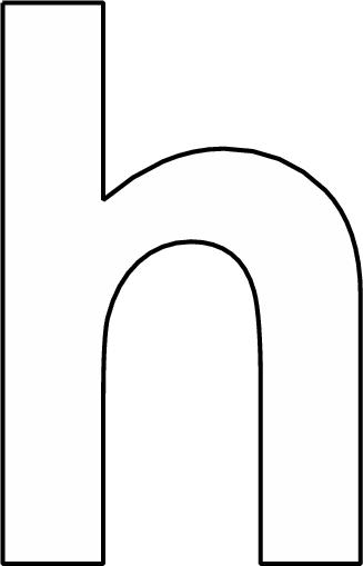 alfabet h klein alfabet kleurplaten schrijfhoek alfabet