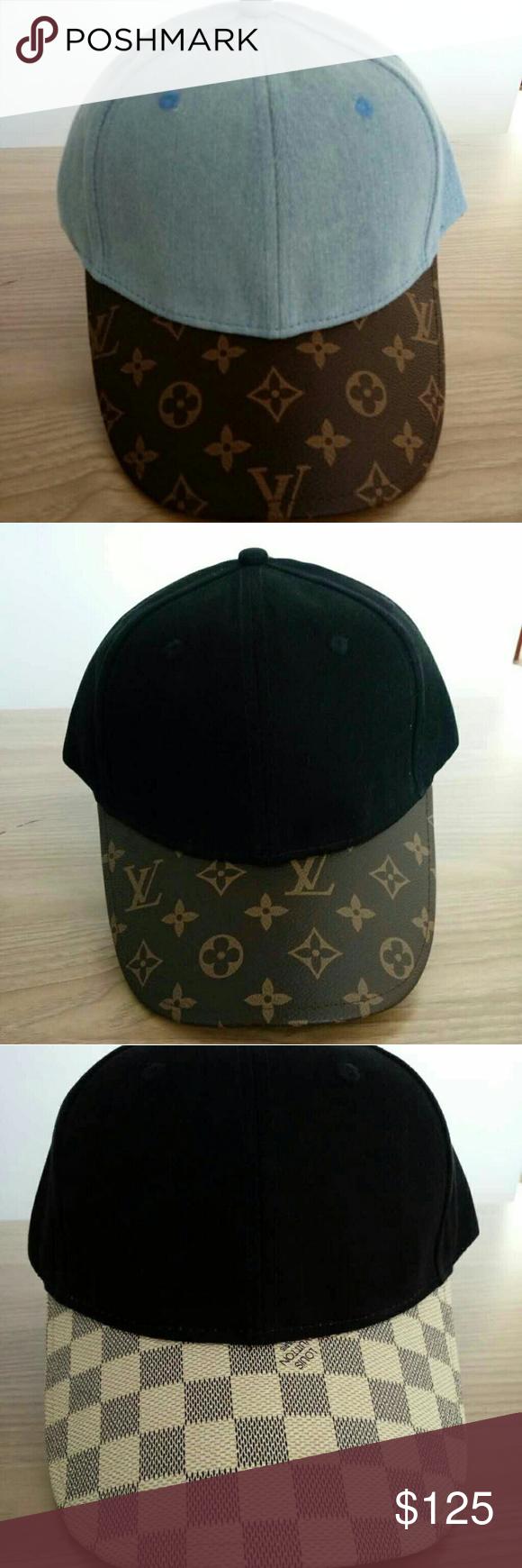 Custom Louis Vuitton Dad Hats Custom Louis Vuitton Dad Hats Made from  authentic Louis Vuitton on c103237e98b