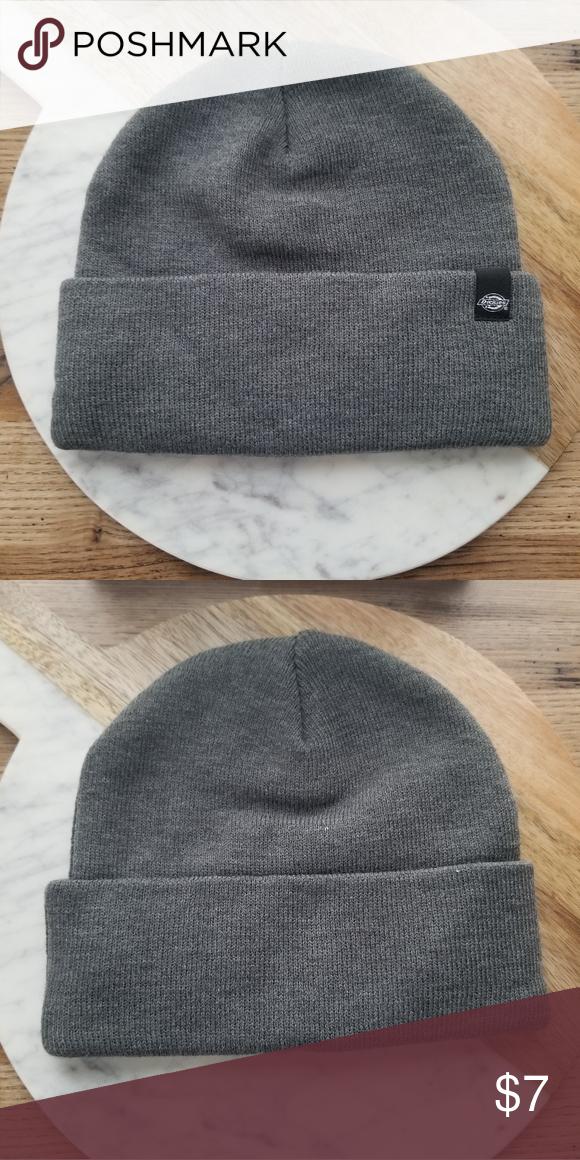 51b01289 Dickies Hat Gray dickies winter hat - never worn Listing for $7 or best  reasonable offer Dickies Accessories Hats