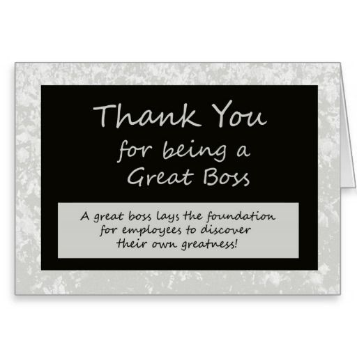 A Great Boss Bosses Day Card  CraftGift Ideas
