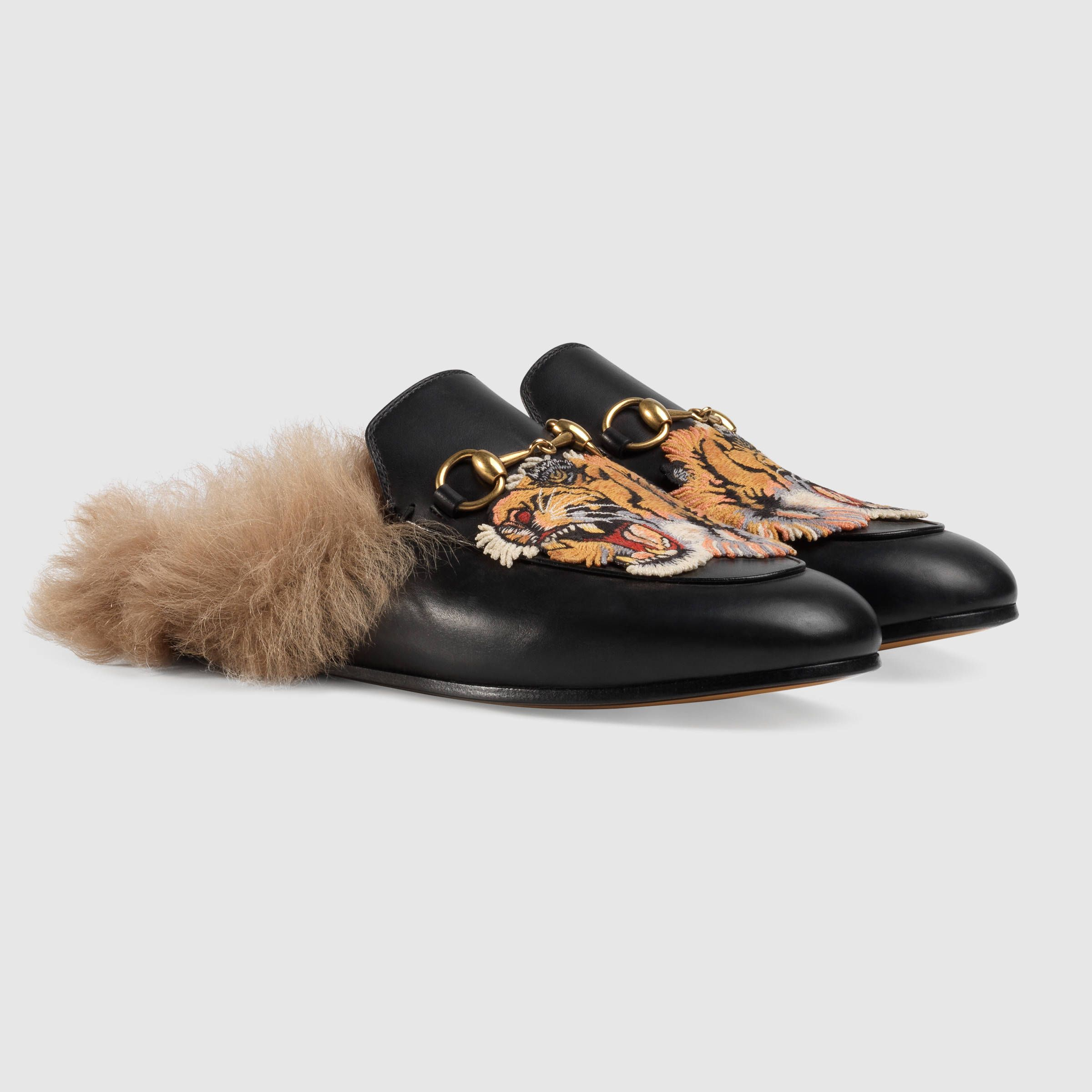Gucci Princetown leather slipper. Gucci OutletCheap GucciShoes For  WomenLeather ...