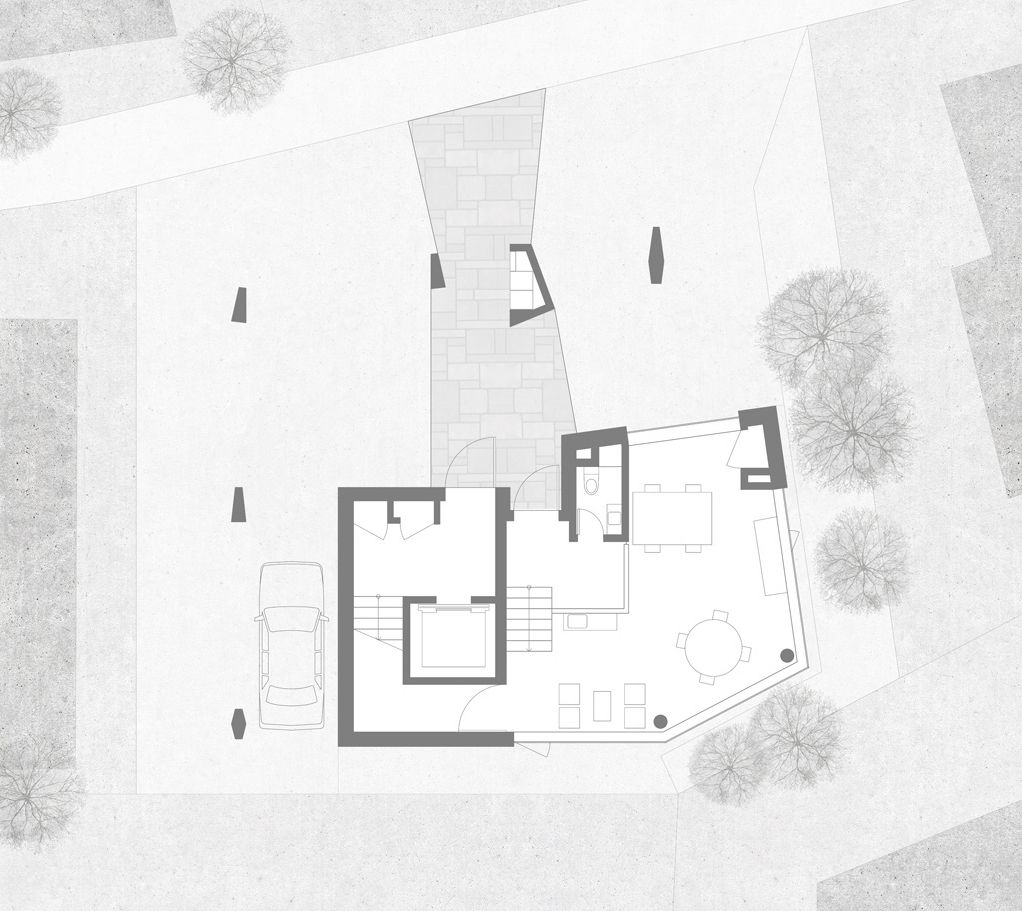 Gallery Of Quad House Kimnam Architects 29 Architect Floor Plans Quad
