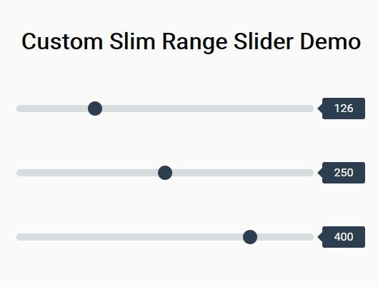 Custom slim range slider with css and jquery pinterest this is a pure css solution to create slim beautiful range sliders with custom malvernweather Choice Image