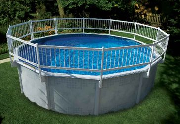 Above Ground Pool Fence Pictures Gardening Pinterest Ground Pools Fences And Swimming Pools