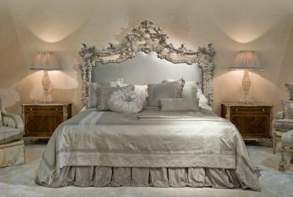 Schlafzimmer Italien ~ Die klassischen italienischen möbel provasi silbernes schlafzimmer