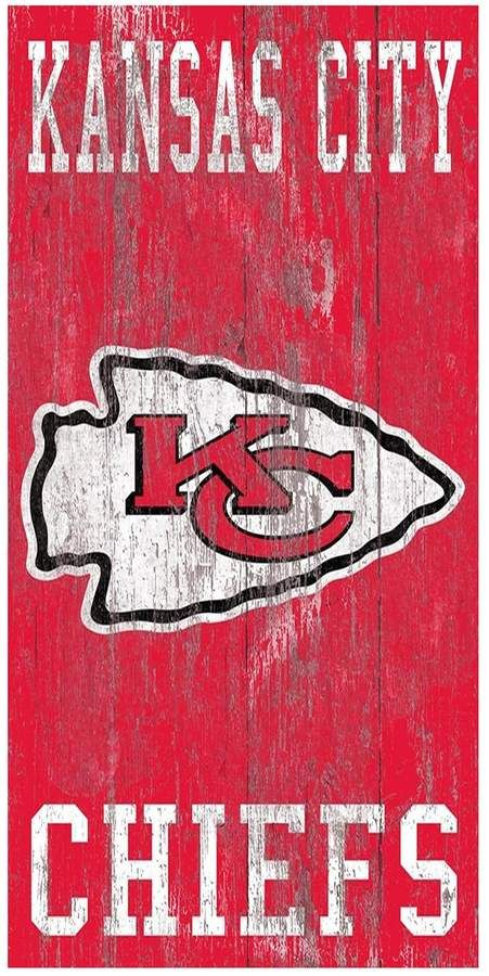Kansas City Chiefs Heritage Logo Wall Sign in 2020