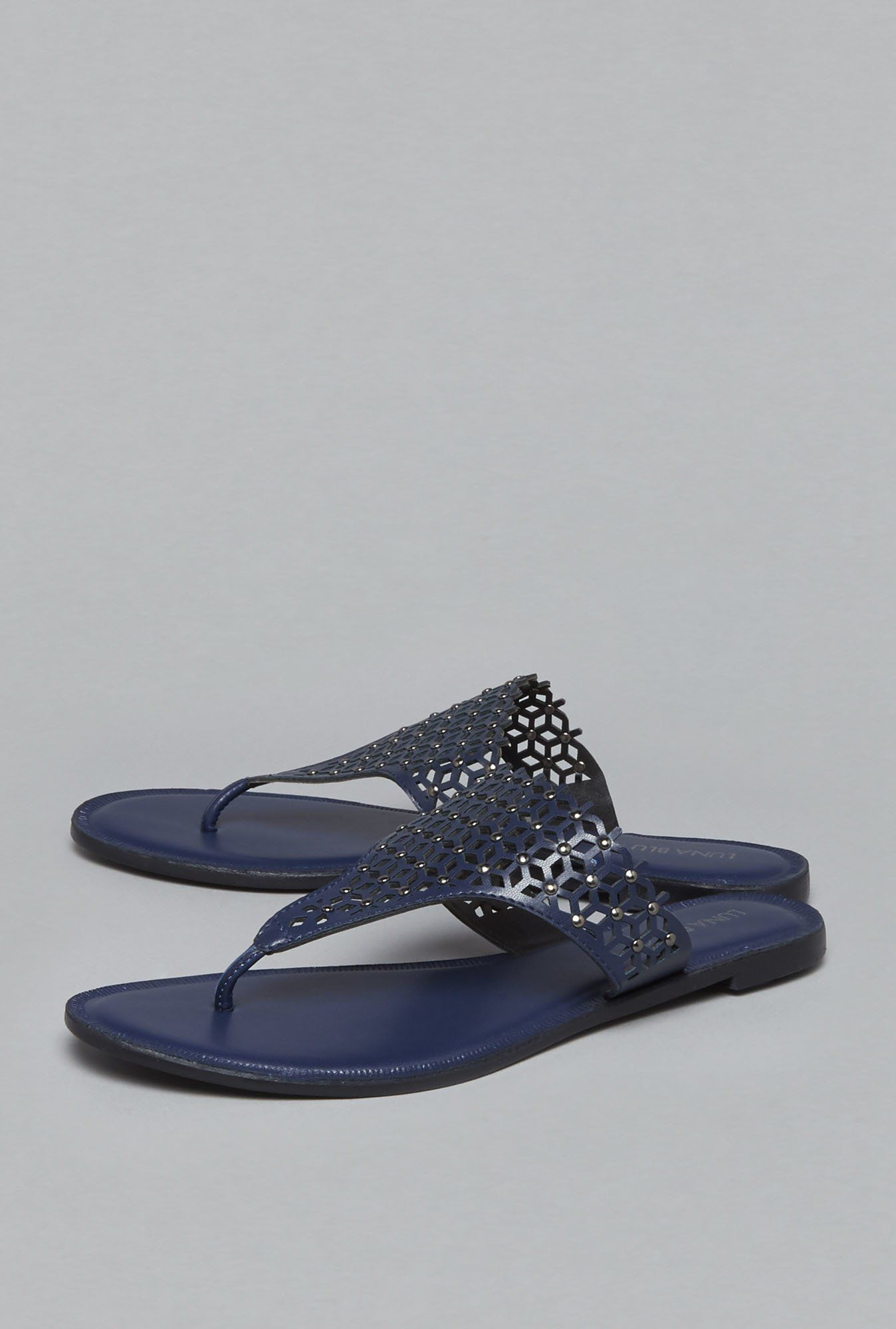 ad72041ec69 LUNA BLU by Westside Navy Sandals