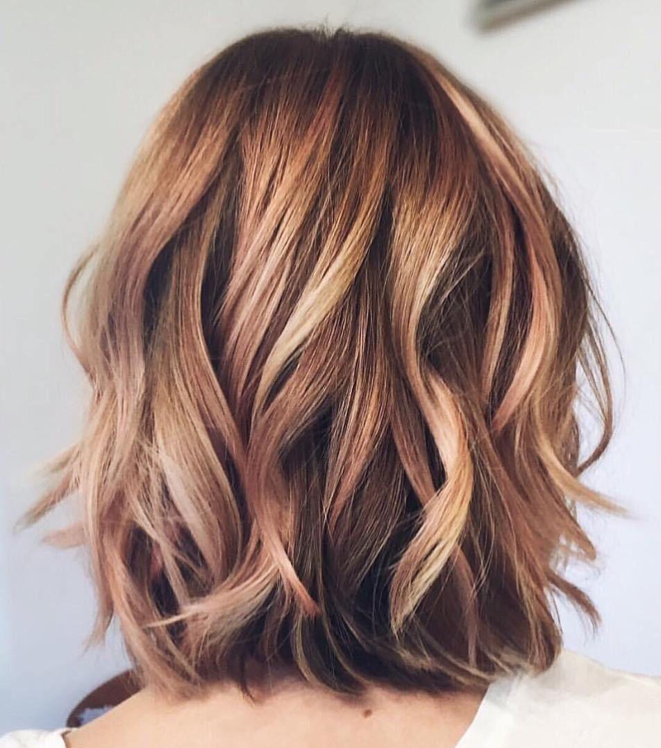 devastatingly cool haircuts for thin hair subtle balayage