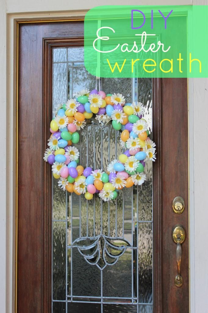 Fun With The Fullwoods Diy Easter Wreath Happy Easter Pinterest