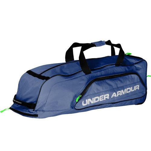 Under Armour Line Drive Wheeled Player Bag Navy