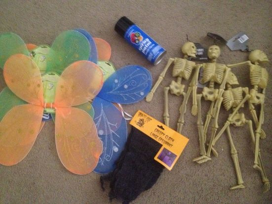 Static: Dead evil fairies *very cheap to make*