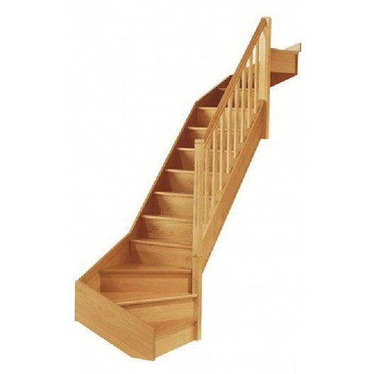 Escalier Soft Quart Tournant Bas Haut A Droit H274 Rampe Classic Bois Escalier Quart Tournant Haut Bois Hetre Et Escalier Bois