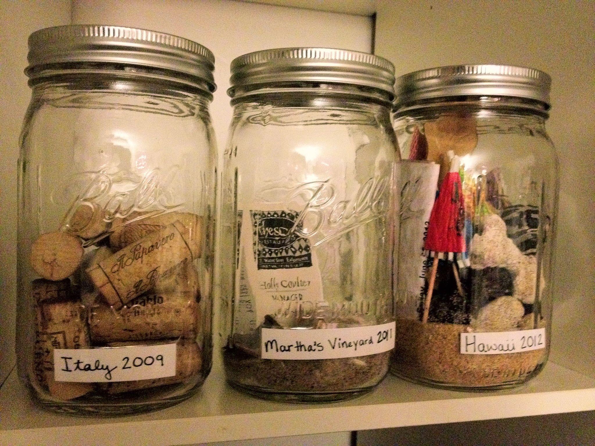 Diy Travel Memory Jars Memory Jars Mason Jar Picture Mason Jars