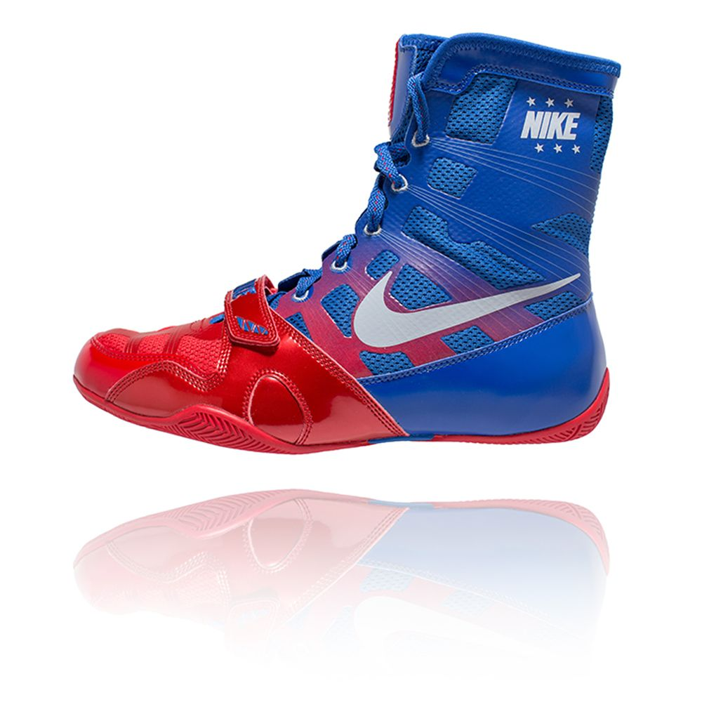 Nike HyperKO - Sport Red / Metallic Silver / Royal | Boxing Shoes ...