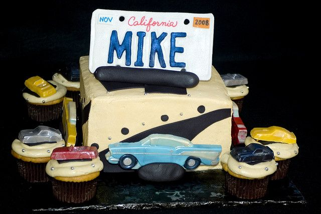 Classic Cars Cake Vintage Car Party Cars Birthday Party Disney