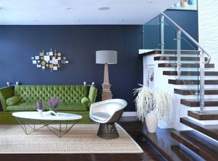 Farbgestaltung Wohnzimmer - Interieurgestaltung - Archzinenet