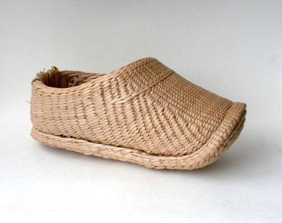 Shoe Shaped Basket Wicker Rattan Basket Shoe Home Decor Unusual Basket Wicker Dutch Clog Rattan Shoe Basket For Plan Rattan Basket Vintage Baskets Wicker