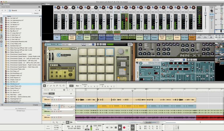 Here's a list of the five best music remixing software