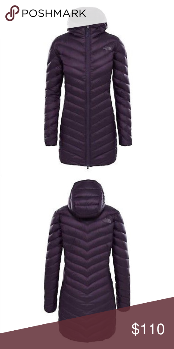 a09ef0422c79 The North Face women s Trevail Parka NEW WOMENS Medium EGGPLANT PURPLE THE  NORTH FACE TREVAIL DOWN PARKA COAT HOODED. Condition is New with tags. The  North ...